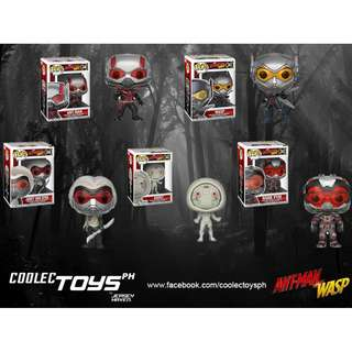PRE-ORDER Funko Pop Ant Man and the Wasp