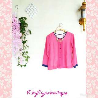 ❎WeekdayPromo❎ Pink Blouse