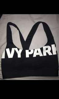 Ivy park small sports bra crop top
