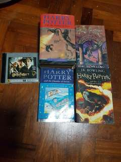 🔴Harry Potter Books and CDs