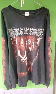 Cradle of Filth Tournography Long Sleeve Original XL