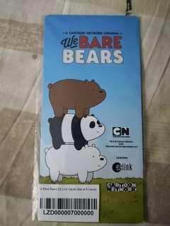 🚚 Set of 3 Bare Bears new EZLink