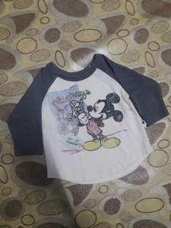 T-shirt Long sleeve mickey kids
