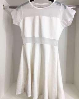 Meshed dress