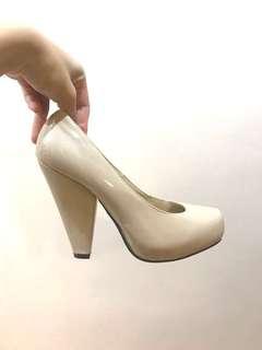 Forever 21 Ivory high heels