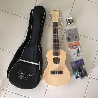 Premium ukulele, ukelele, concert