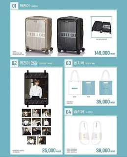 【Preorder】Wanna One Pop Up Store Official MD