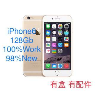 iPhone6 128Gb Gold 金色