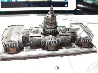 金屬模型 美國白宮