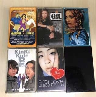 🚚 錄音帶-瑪丹娜、近畿小子、小室哲哉globe、吉兒