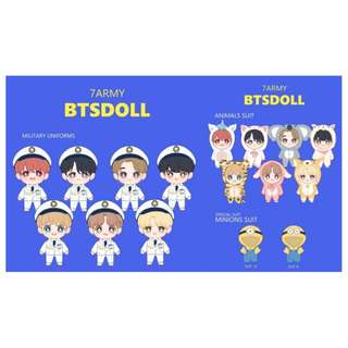 BTS - 7ARMY BTS DOLL