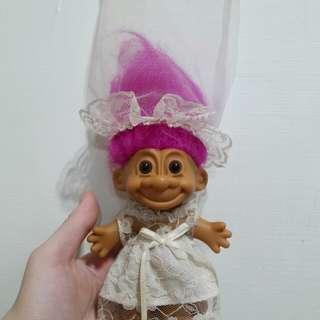 🚚 Troll dalls 醜娃 幸運娃娃 玩具總動員