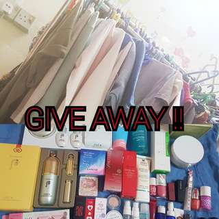 Clothes&skincare giveaway for free!#july70