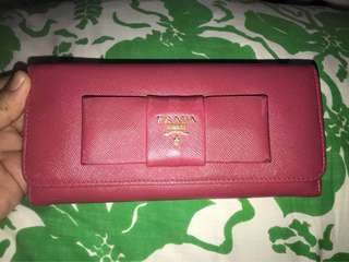 FIRM ON PRICE. Authentic Prada Saffiano long wallet