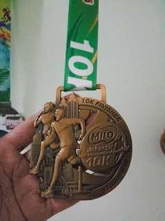 Finisher Gold Medal Milo10K