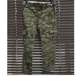 Girls Camouflage Pants