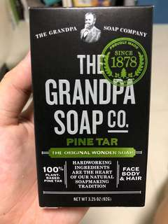 🚚 The Grandpa Soap - Pine Tar