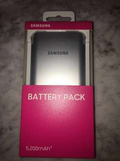 全新 Samsung BATTERY PACK (5200mAh)