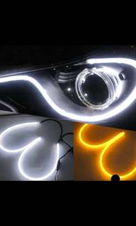 45cm 1x Car Flexibel Tube LED Strip DRL Light