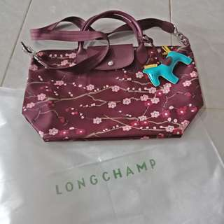 New Sakura Longchamp Handbag