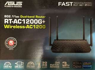 ASUS RT-AC1200G+ Dual-band Wireless Router