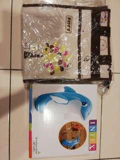Diaper Bag and 3D Bop Bags