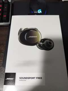 Bose SoundSport Free Wireless (Black)