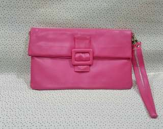 Hot Shocking Pink Purse