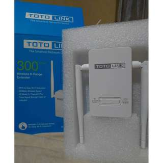 WiFi Extender TOTOLINK EX200 Wireless-N 300 Mbps