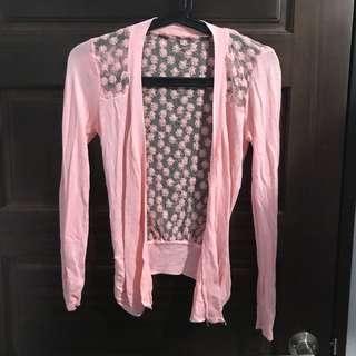 🌸粉紅小外套