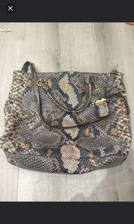 Preloved Prada Snakeskin Authentic Bag