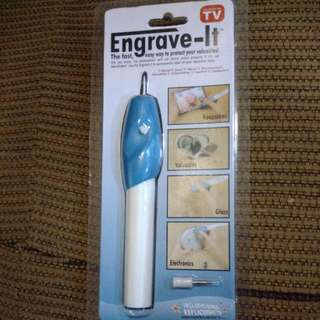 BRANDNEW ENGRAVE-IT Engraver Pen (AS SEEN ON TV)