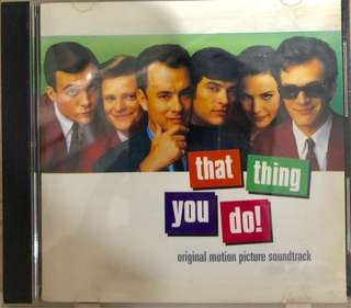 That Thing You Do! Original Motion Picture Soundtrack CD