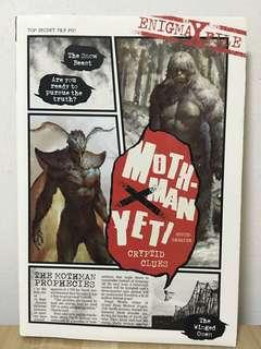 Moth-man yeti - TOP secret file po1
