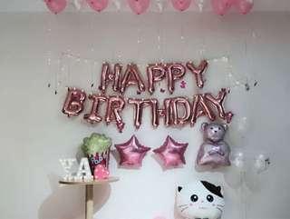🚚 Happy Birthday Balloons Sets (INSTOCK)