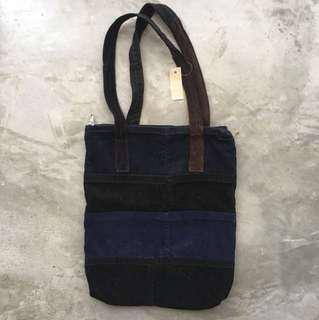 Conduroy Tote Bag