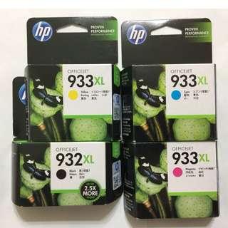 hp 933 XL and hp 932 XL Ink Cartridges
