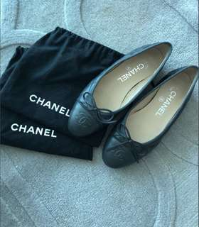 Chanel Ballerina Flat shoes 平底鞋 100%real 95%new