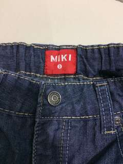 MIKI jeans shorts