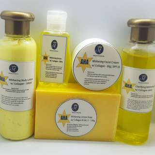 5 Sets Of AHA 5 in 1 Beauty Pack