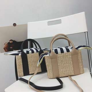 Basket Style Travel Bag