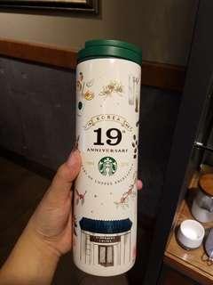 韓國Starbucks 19週年杯