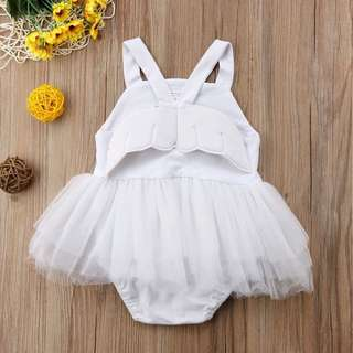Angel Wings Tutu Romper