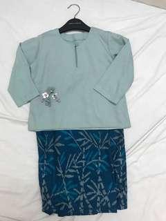 Baju Kurung Kedah Batik Indonesia (4y)
