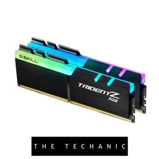 G.SKILL TRIDENT Z RGB 32GB (2 X 16GB) 3200MHZ DDR4 C15 UDIMM