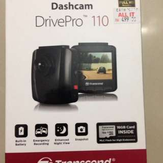 Transcend Dashcam Drive Pro 110