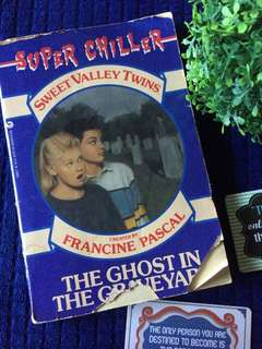 SWEET VALLEY TWINS -THE GHOST IN THE GRAVEYARD