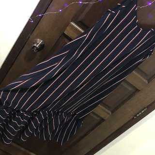 🚚 Strip long dress