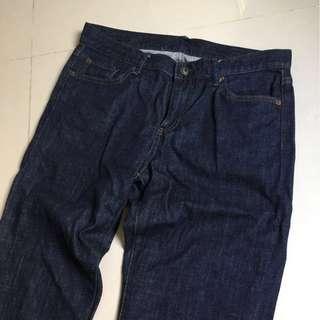 日本購入 uniqlo 丹寧牛仔褲