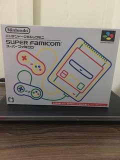 Nintendo Super Famicom with 20 games